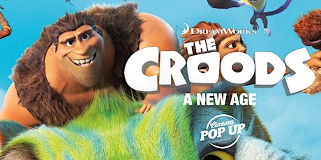 Cinema Pop Up - The Croods - Wangaratta tickets