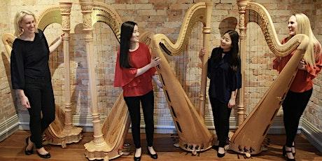 Australian Harp Quartet returns to Mosman Art Gallery tickets