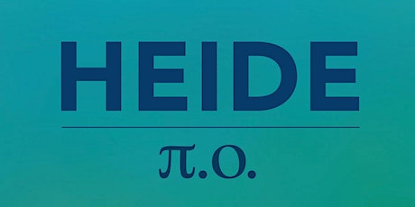 A POETRY READING OF HEIDE: π.o. tickets