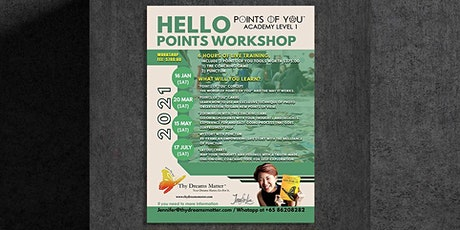 17 July  2021- Points Of You®️ Academy Level 1 by Jennifer Lim (Singapore) tickets