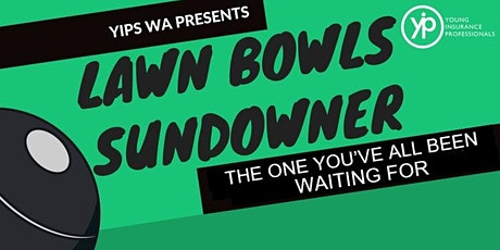 YIPs WA Annual Lawn Bowls Event tickets