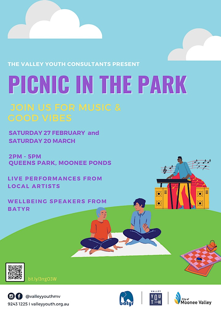 The Valley Youth Consultants Present: Picnic in the Park image