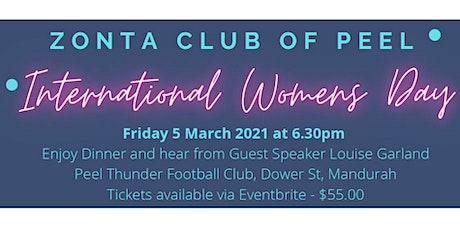 Zonta Club of Peel - International Women's Day 2021 tickets