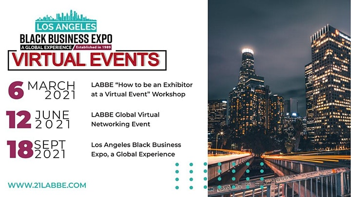 """LABBE """"How to Be An Exhibitor at Virtual Events"""" Workshop image"""