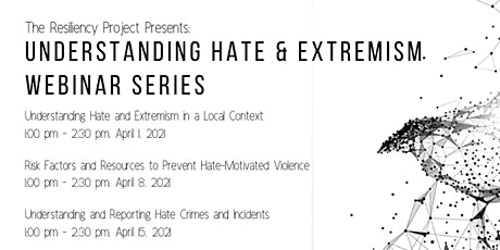 Understanding Hate & Extremism Series tickets