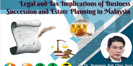 Legal and Tax Implications of Business Succession & Estate Plan tickets