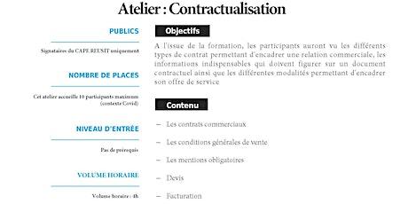 Atelier Contractualisation billets