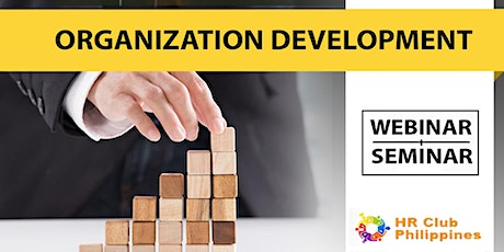 Live Webinar: Organization Development tickets