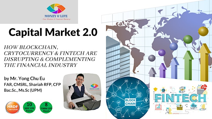 Capital Market 2.0-How Blockchain, Crytocurrency and FinTECH are Disrupting image