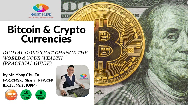 Bitcoin and Crypto Currencies-Digital Gold Changes the World image