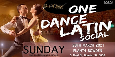 ONE DANCE LATIN SOCIAL tickets