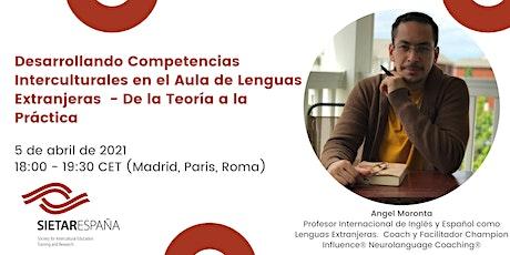 Webinar para promover la formación intercultural: Angel Moronta boletos