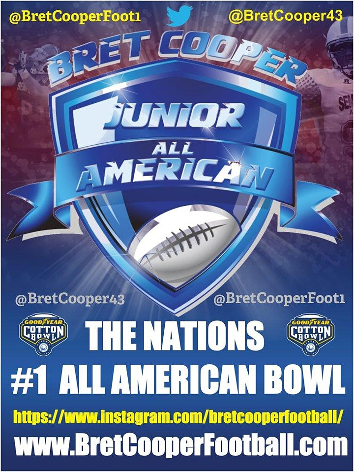 2021 Player Nomination / Bret Cooper Junior  Academic All American Team image