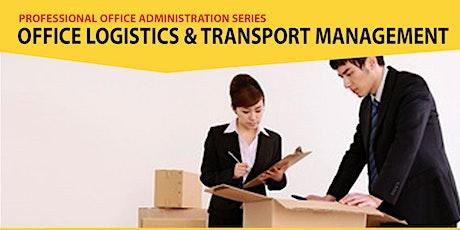 Live Webinar: Office Logistics, Transport Management bilhetes