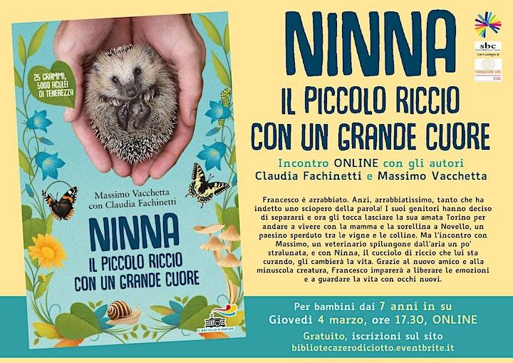 Immagine Ninna, il piccolo riccio con un grande cuore (7-10 anni)