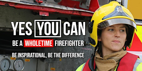 Firefighter Recruitment Discovery Workshop for female potential applicants tickets