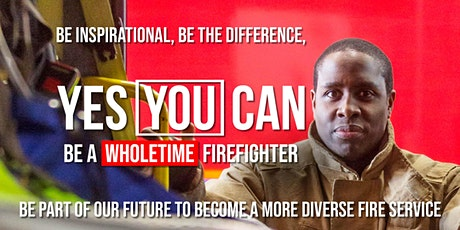 Firefighter Recruitment Discovery Workshop for BAME potential applicants tickets
