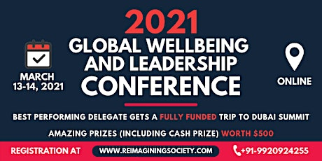 Global Wellbeing and Leadership Summit | Win a Fully Funded Trip to Dubai tickets