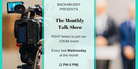 BackaBuddy Talk Show Tickets