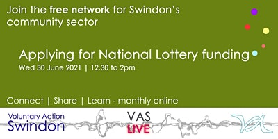 VAS-LIVE – applying for National Lottery funding