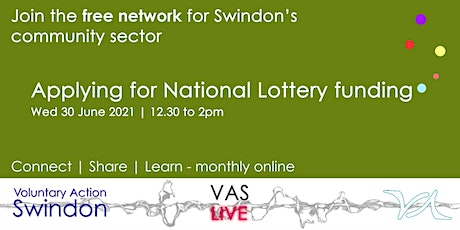 VAS-LIVE - applying for National Lottery funding tickets