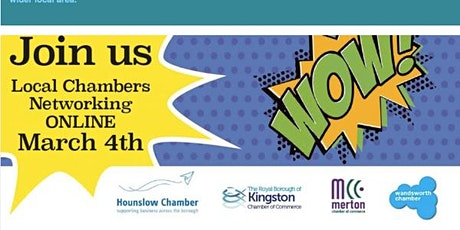 Local Chambers Networking with Kingston, Hounslow and Merton Chambers tickets