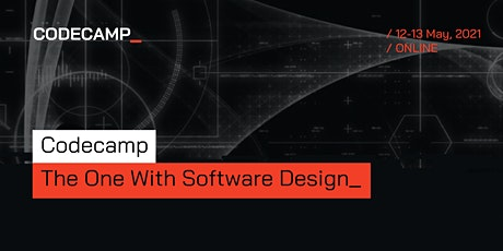 Codecamp_The One with Software Design, 12-13 May 2021 tickets