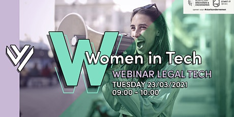 Women in Legal Tech: Inspiring Stories Webinar tickets