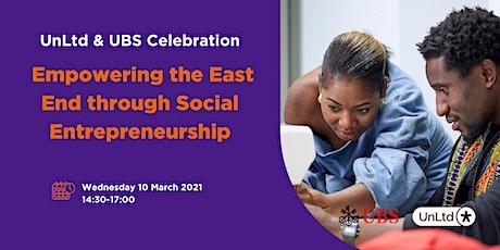 Empowering the East End through Social Entrepreneurship tickets