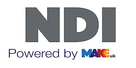 NDI - How to improve Manufacturing Productivity biglietti