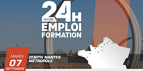 24 heures pour l'emploi et la formation - Nantes 2021 billets
