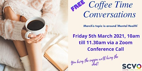 March Coffee Time Conversations tickets