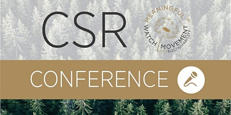 CSR Conference: Towards sustainable luxury tickets