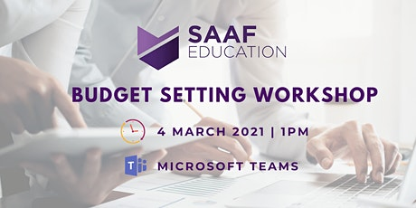 Budget Setting Workshop tickets