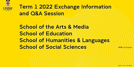 Arts, Design and Architecture Exchange Information Session tickets