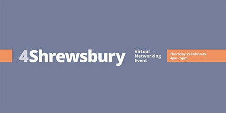 4Shrewsbury - The Market Hall Shrewsbury tickets