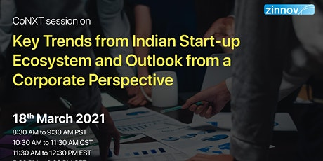 Indian Start-up Ecosystem and Outlook from a Corporate Perspective tickets