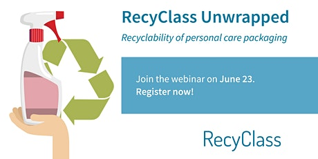 RecyClass Unwrapped: Recyclability of personal care packaging tickets