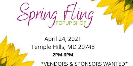 Spring Fling Popup Shop tickets