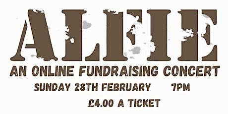 Alfie - The Musical Online Fundraiser tickets