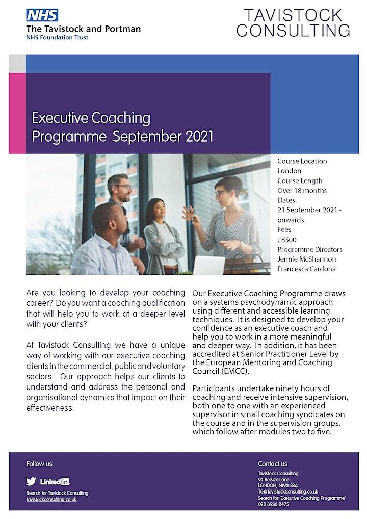 Executive Coaching Programme image