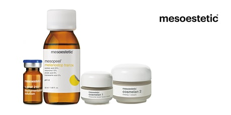 WORKSHOP: MESOESTETIC® DEPIGMENTING SOLUTIONS - AES tickets