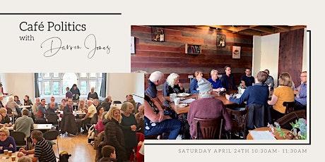ONLINE: Cafe Politics tickets