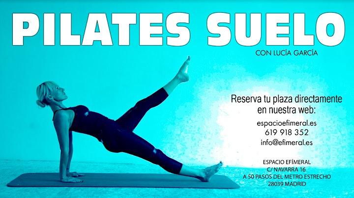 Clases de Pilates en el suelo en Espacio Efimeral image