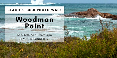 Photo Tour at Woodman Point then Sunset tickets