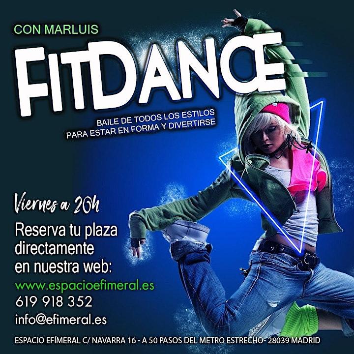 Clases de Fit dance en Espacio Efimeral image