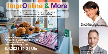 ImprOnline & More - kreative Online-Tools für mehr Interaktion & Spaß Tickets