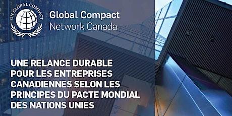 Lancement du guide : Une relance durable pour les entreprises canadienne billets