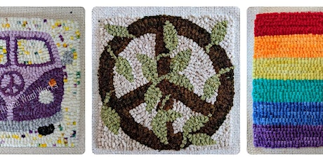 Basic Beginner Rug Hooking Class - 1 Session on ZOOM tickets