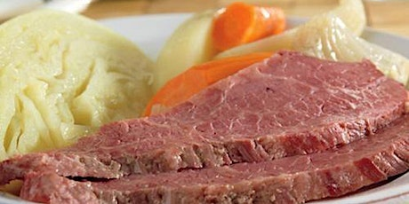 Corned Beef Dinner tickets